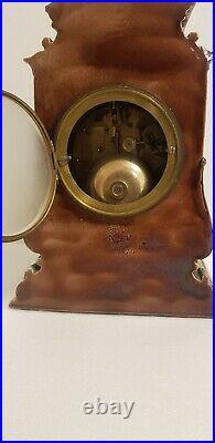 Superb Doulton Lambeth Saltglaze Stoneware art pottery Clock Case J. W. Benson