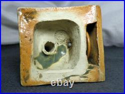 ULTRA RARE Royal Doulton Lambeth Stoneware Booby TRUMP MARKER Mark V Marshall