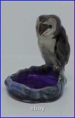 Very Rare Doulton Lambeth Owl Bibelot