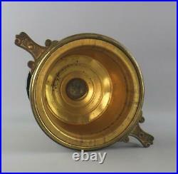 Victorian Doulton Lambeth Edith Lupton Oil Lamp Hinks Williams Bach Burner 1881